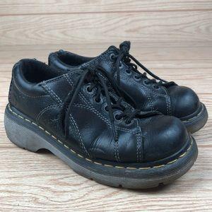 DR. MARTEN Melissa Flower Lace Up Platform Shoes